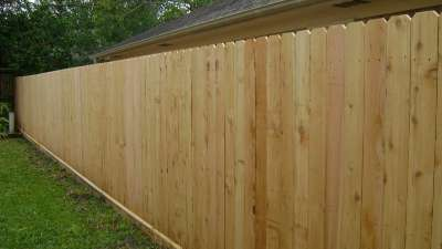 Pressure Treated Privacy Fence Cca Privacy Fence